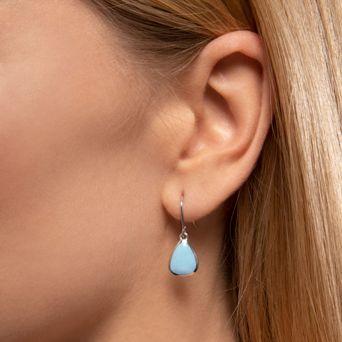 Cheyenne Larimar Earrings