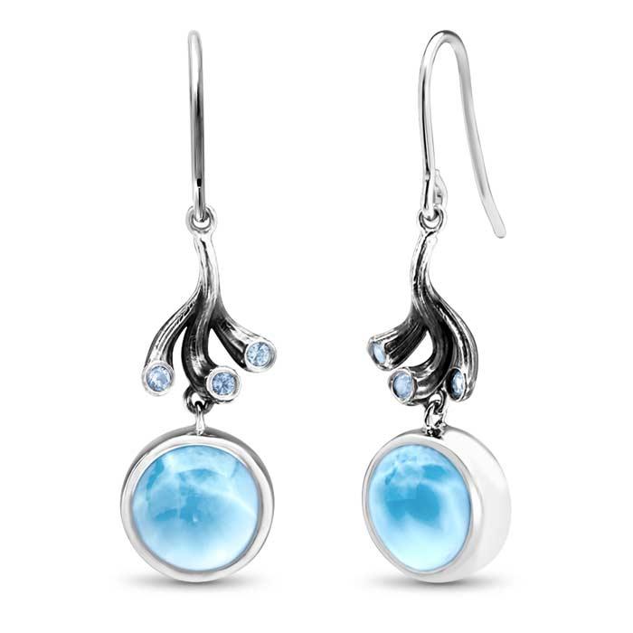 Odessa Larimar Earrings