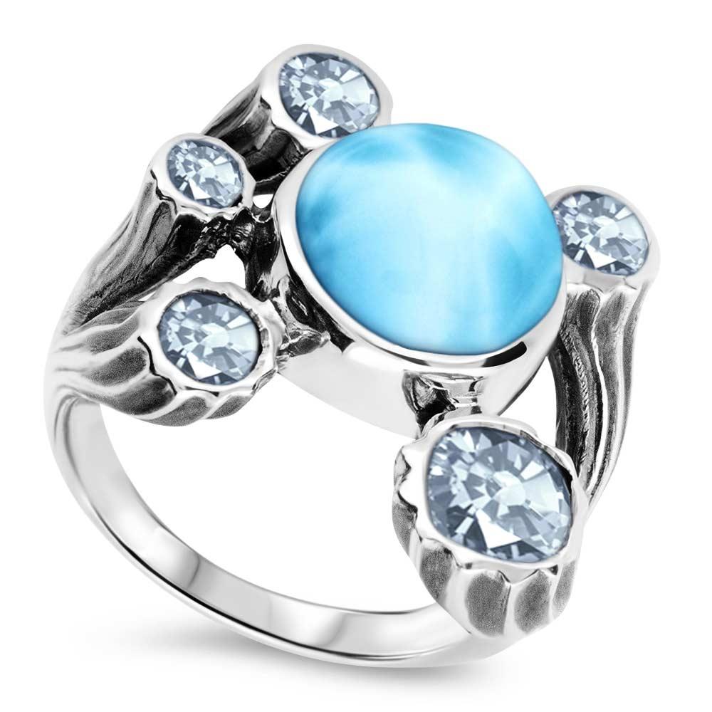 Odessa Larimar Ring