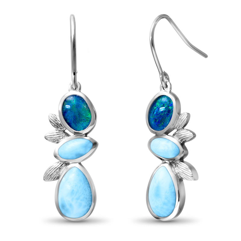 Arbol Larimar Earrings