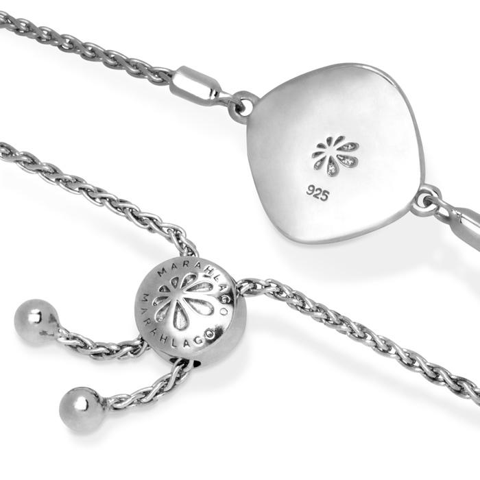 Radiance Cushion Larimar Bracelet