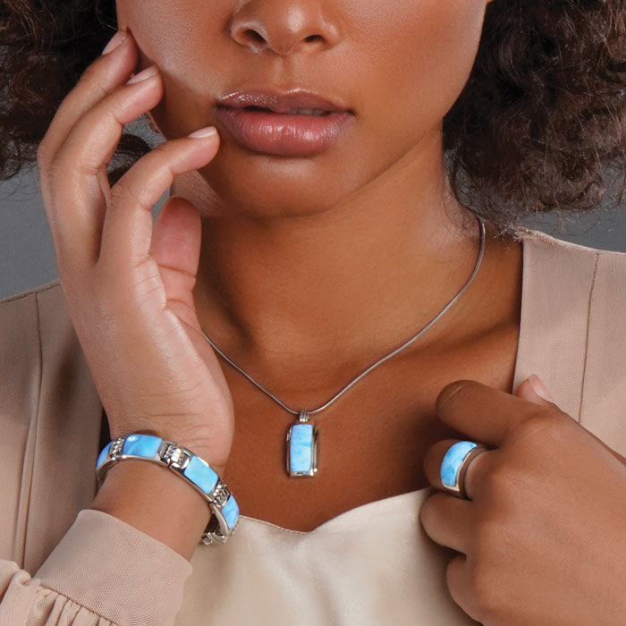 Encore Ladies Larimar Bracelet