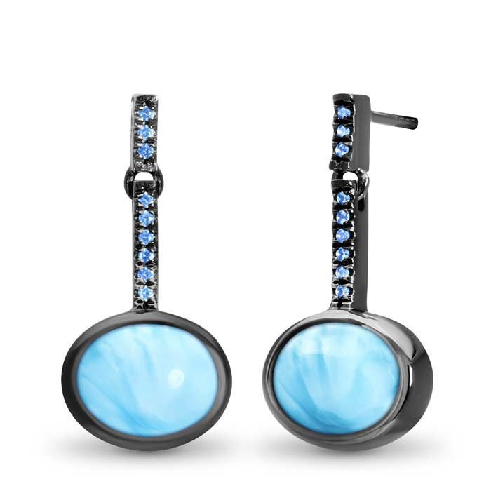 Jada Larimar Earrings