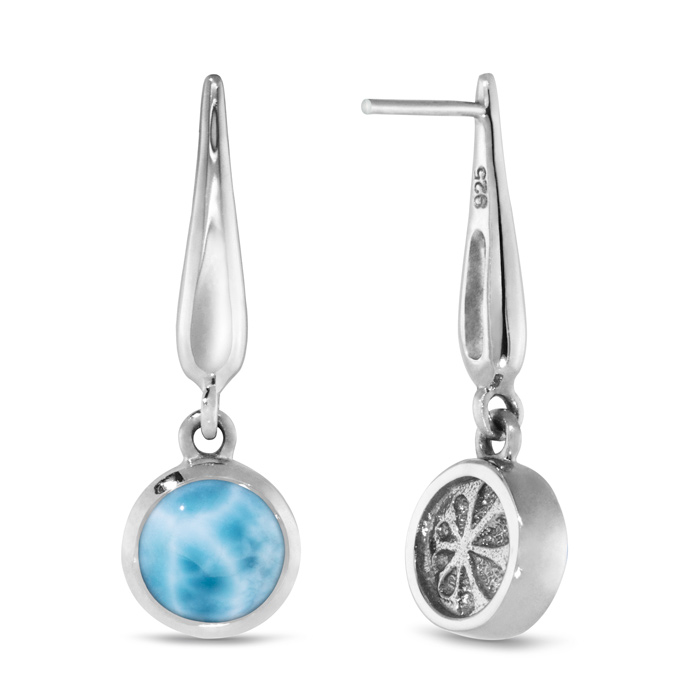 Liquido Larimar Earrings
