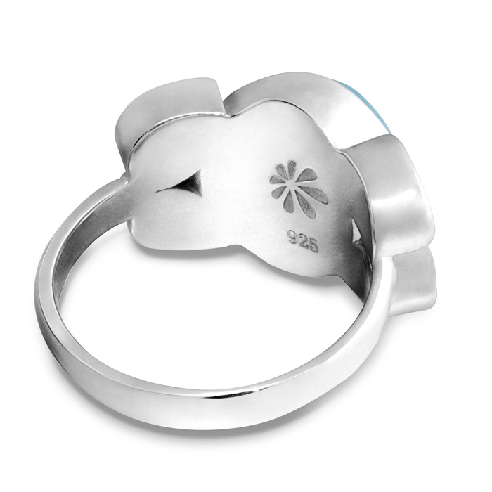 Papillon Larimar Ring
