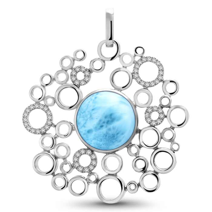Paradise Larimar Necklace