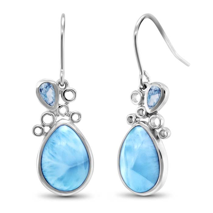 Siria Larimar Earrings