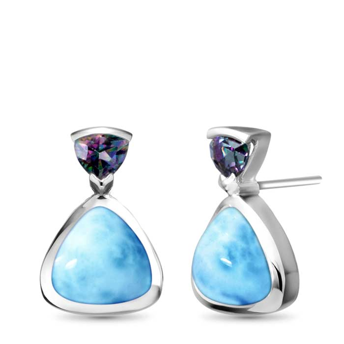 Marahlago Other Spectral Larimar Earrings