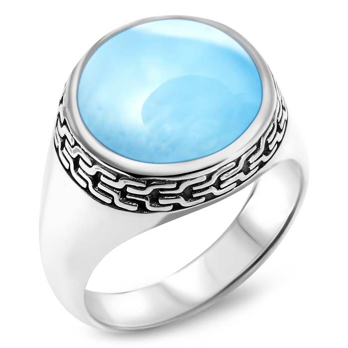 Tonela Ladies Larimar Ring