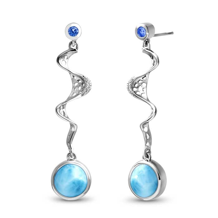 Versailles Larimar Earrings