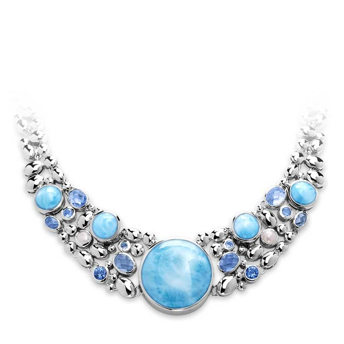 Victoria Larimar Necklace