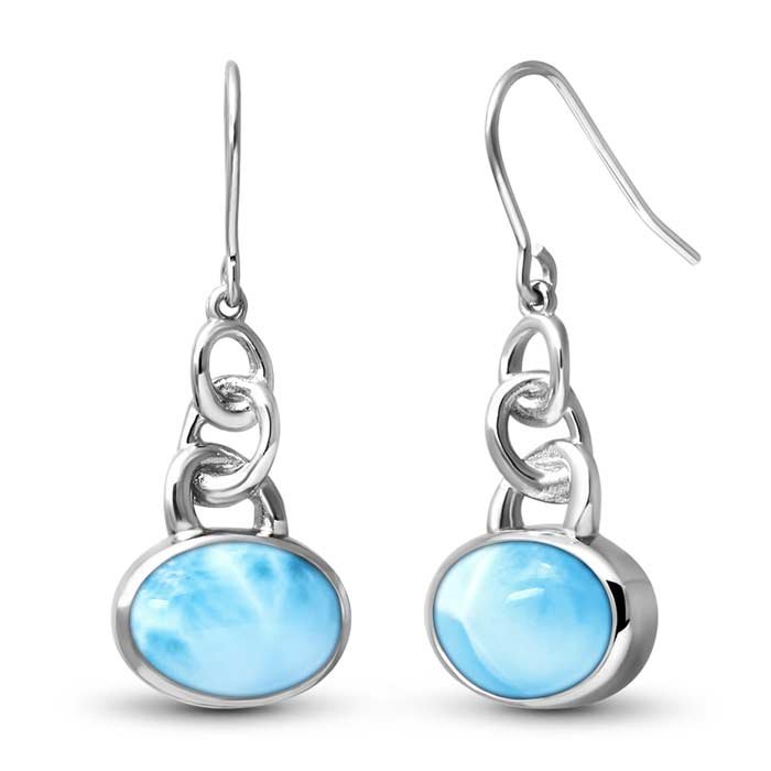Zuma Larimar Earrings