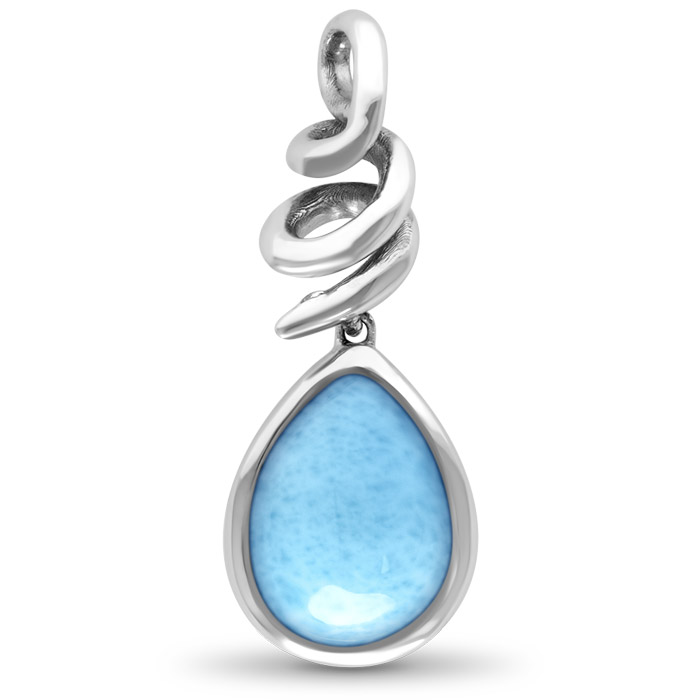 Muse Larimar Necklace