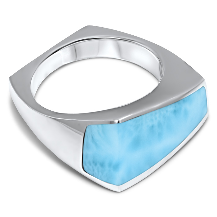 Nile Larimar Ring