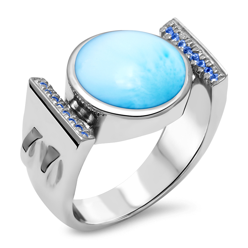 Paris Larimar Ring
